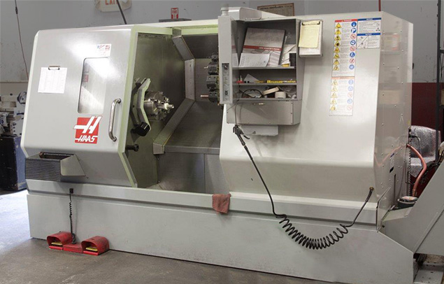 CNN lathe for secondary operations